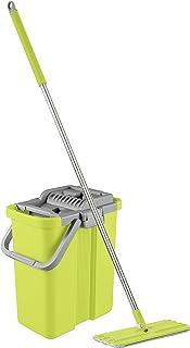 Smart Mop Plus – Le Ustensile innovant pour le nettoyage des sols durs – Poubelle avec 2 compartiments et automatique esso...