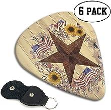 Starry Sky in Western Texas Guitar Picks (Pack de 6) - Guitarristas de la colección acústica