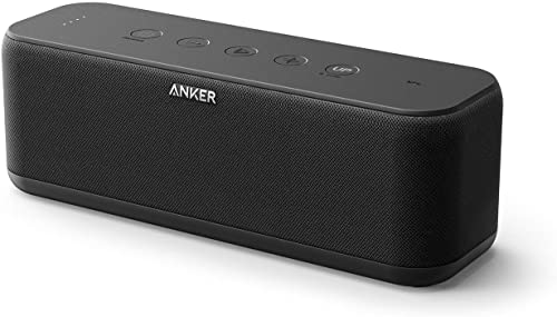 lowest Upgraded, Anker Soundcore Boost Bluetooth Speaker with Well-Balanced Sound, lowest BassUp, 12H Playtime, USB-C, IPX7 Waterproof, Wireless online Speaker with Customizable EQ via App, Wireless Stereo Pairing online sale