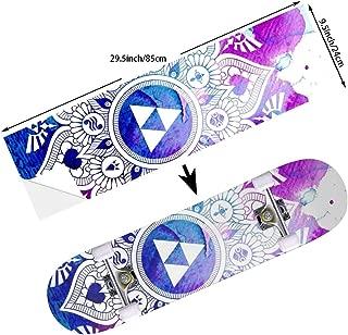 STREET FFX Skateboard Cruiser Deck and Balance Board Stickers Decals - 9.5 x 33.5 Inches
