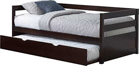 Hillsdale Furniture Caspian Daybed with with Trundle, Chocolate