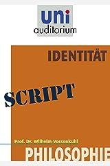 Identität: Philosophie Kindle Ausgabe
