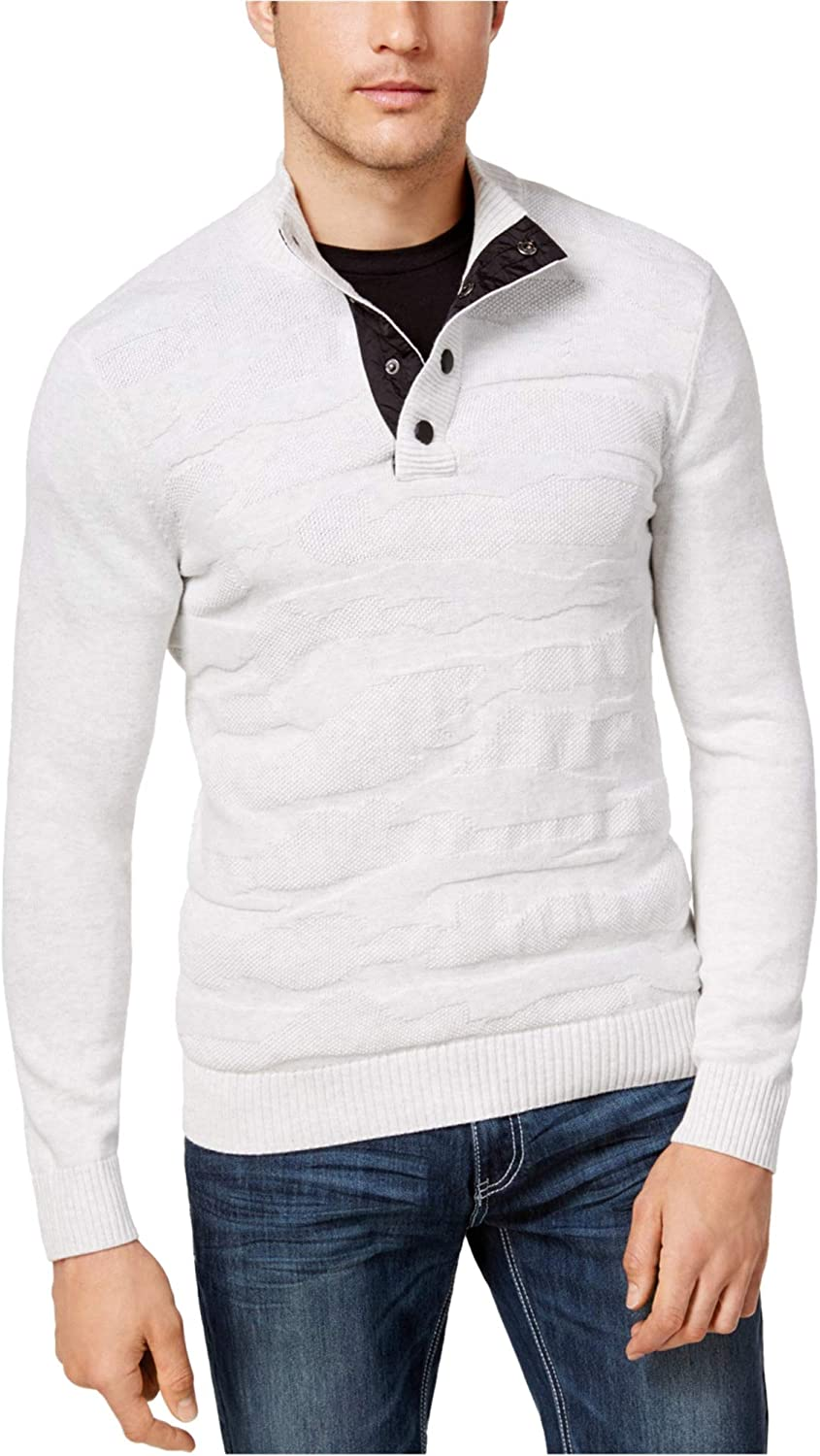 Max 76% OFF I-N-C Super-cheap Mens Cable Sweater Pullover