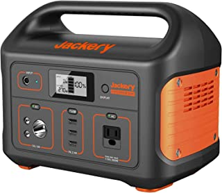 Jackery Portable Power Station Explorer 500, 518Wh Outdoor Solar Generator Mobile Lithium Battery Pack with 110V/500W AC O...