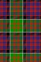 Clan MacDonald of Clanranald Tartan Journal/Notebook