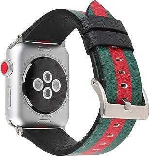 Series 2 Series 3 Series 4 I3 Wrist Watch Strap 40 Mm Apple Watch Band Apple Watch Band 44mm Band for 3 4 Bands 4s S2 for Apple Watch Band 4series New Apple Watch Band 42mm 42 (Green, 42mm44mm)