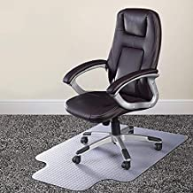 "Azadx Chair Mat for Carpets, Transparent Low/Medium Pile Carpets Computer Chair Floor Protector for Office and Home, 36"" x..."