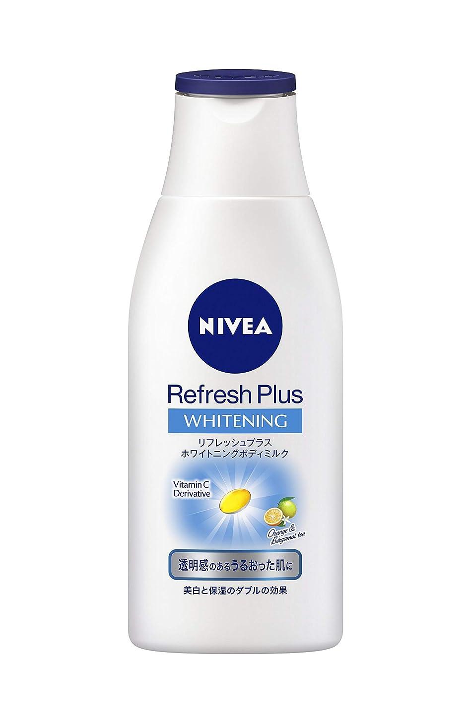 怒るシーケンス活性化するニベア リフレッシュプラスホワイトニングボディミルク 150ml