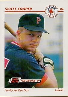 Baseball MLB 1991 AAA #354 Scott Cooper
