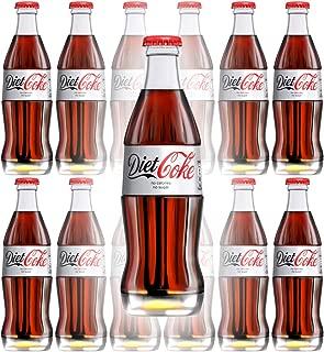 Diet Coke, 8 Fl Oz Glass Bottle (Pack of 12, Total of 96s Oz)