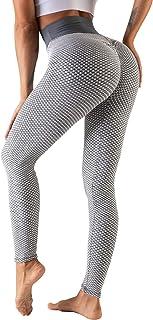 Legging de Sport Femme Anti-Cellulite Butt Lift Leggings de Sport Slim Fit Taille Haute Pantalon de Yoga Leggings de Compr...