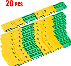 Sunflower Beehive Plastic Entrance Reducer Gate Treated Anti-Escape and Mouse mice Guard (20)
