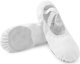 Chaussures de Danse Pantoufle de Ballet Classique Ballerine Chaussons pour Enfants et Adulte EU 23-44