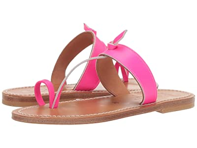 K.Jacques Ganges Pul Sandal (Fluomat Rose) Women