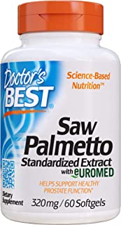 Doctor's Best Best Saw Palmetto Extract (320 mg), Softgel Capsules, 60-Count