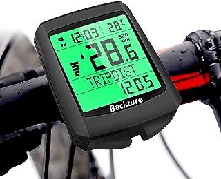 BACKTURE Cuentakilómetros para Bicicleta, 5 Idiomas Imperme