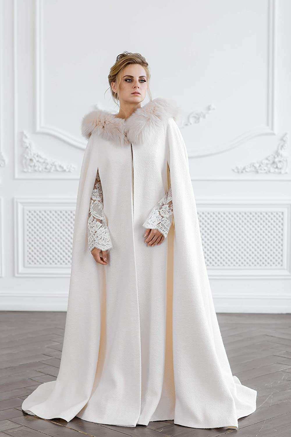 Safety and trust Wedding coat Animer and price revision Bridal jacket Fu