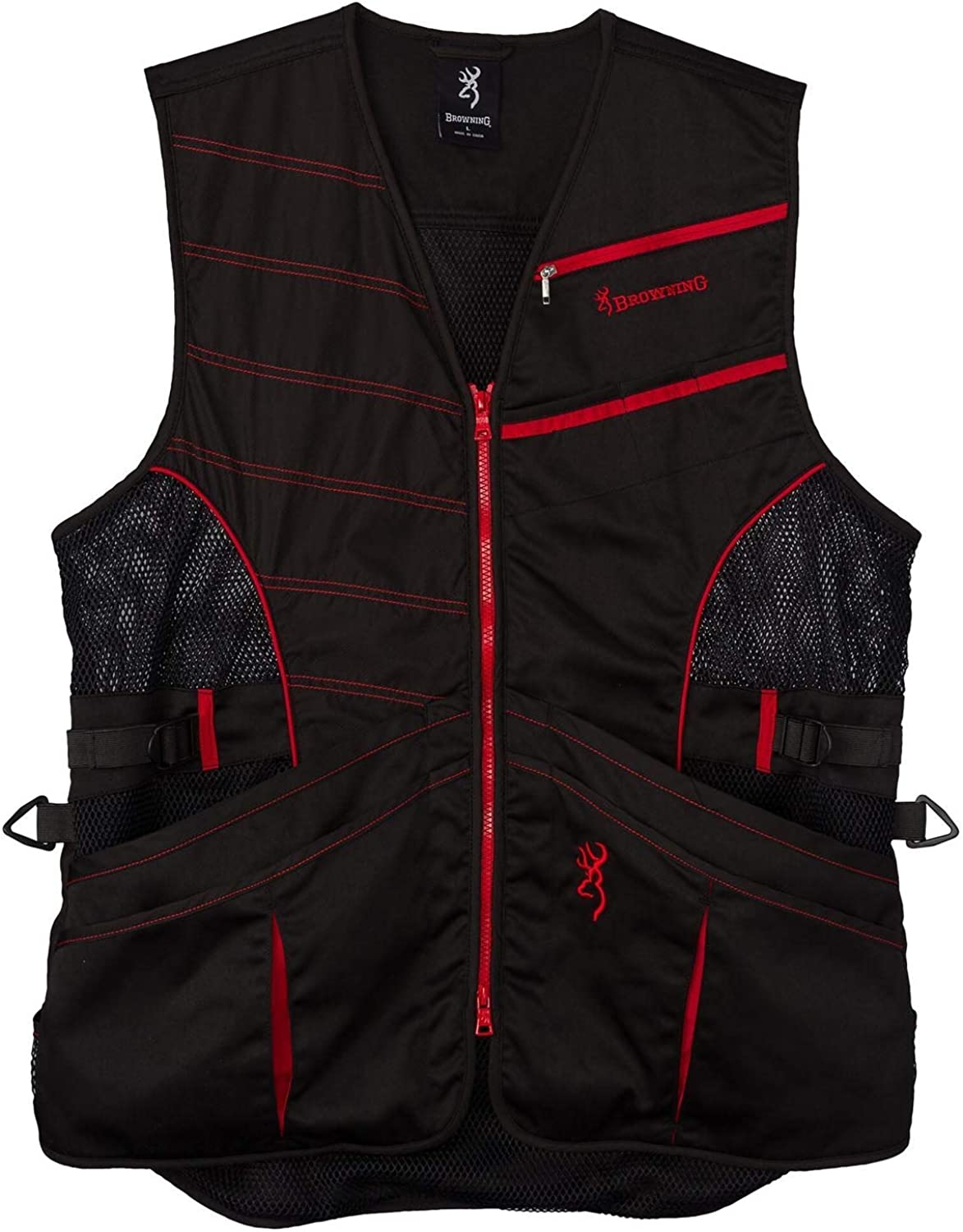 Browning Vest Ace Shooting Black/Red