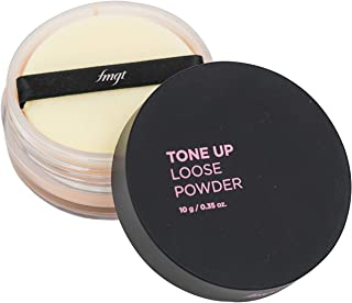 The Face Shop Tone Up Loose Powder, V201 Apricot Beige,