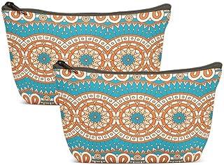 KJONG حقيبة مستحضرات التجميل للنساء حقائب ماكياج السفر حقيبة الملحقات, , Vintage - SSAN5I7