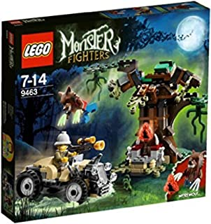 LEGO Monster Fighters Minifigure - The Werewolf with Glow in Dark Claws (9463)