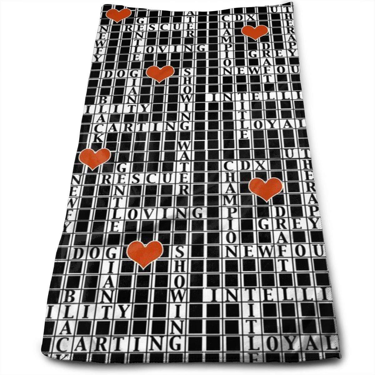 Toalla multiusos de microfibra de crucigrama Ultra compacta