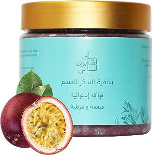Bayt Al Saboun Al Loubnani Passion Fruit Body Sugar Scrub, 500 Gm