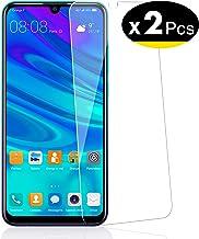 NEW'C Verre Trempé pour Huawei P Smart 2019 / Honor 10 Lite, [Pack de 2] Film Protection écran - Anti Rayures - sans Bulles d'air -Ultra Résistant (0,33mm HD Ultra Transparent) Dureté 9H Glass