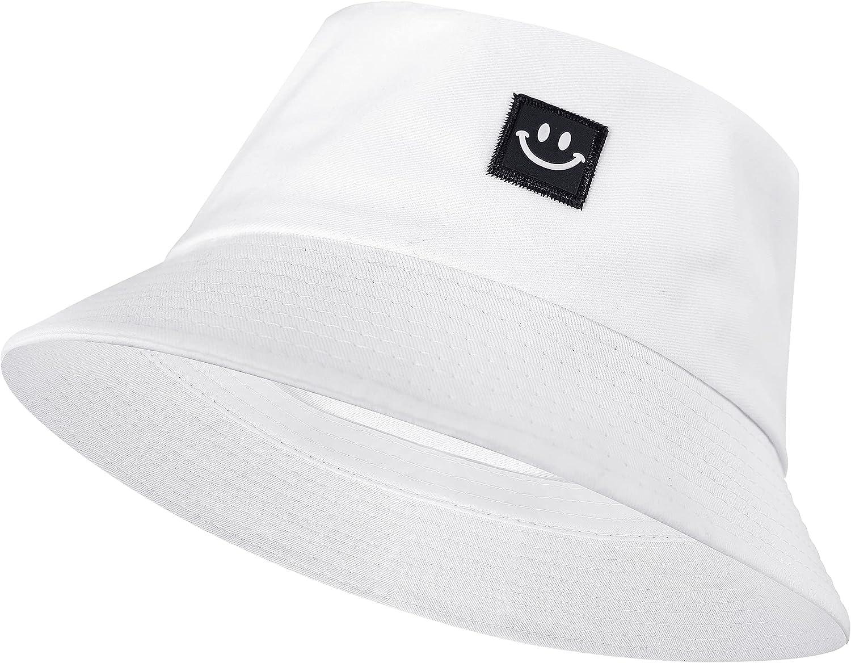 Bucket Hat, Travel Beach Sun Hat Summer Fisherman Cap for Men Women Teens