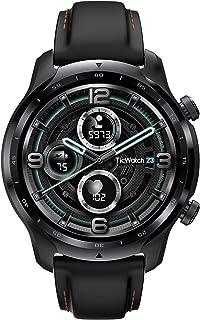 TicWatch Pro 3 スマートウォッチ Wear OS by Google Snapdragon Wear 4100 電話発着信/LINE通知 GPS内蔵 睡眠トラッキング IP68防水 iOS/Android対応 男性用 ブラック