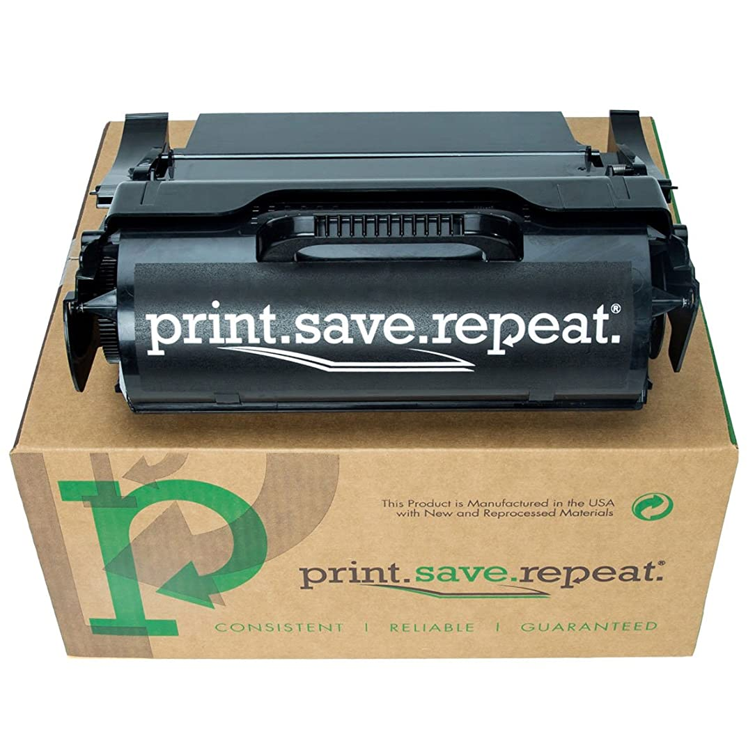 Print.Save.Repeat. Lexmark T650H84G High Yield Remanufactured Label Applications Toner Cartridge for T650, T652, T654, T656 [25,000 Pages]
