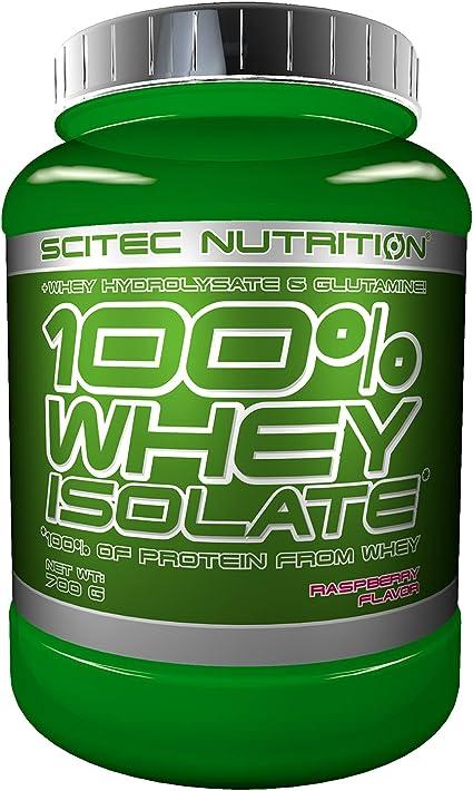 Scitec Nutrition 100% Whey Isolate con L-glutamina adicional, 700 g, Vainilla