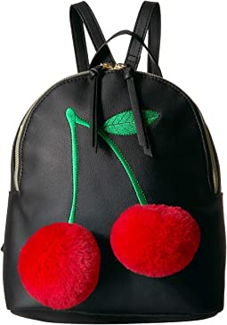 3D Cherry Backpack