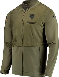 Chicago Bears 2018 Men's NFL Salute to Service Elite Hybrid Jacket