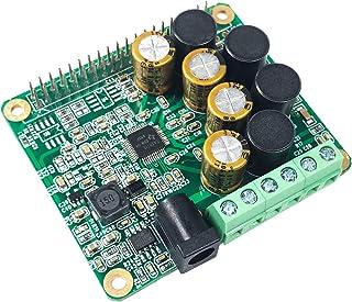 InnoMaker Raspberry Pi HiFi AMP HAT 25W Class-D Power Amplifier TAS5713 Audio Sound Card Expansion Board for Raspberry Pi 4 3 B B+ Pi Zero W