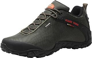 [ショウカン] ウォーキング シューズ メンズ 登山靴 トレッキング シューズ 軽量 防滑 撥水 ハイキング シューズ