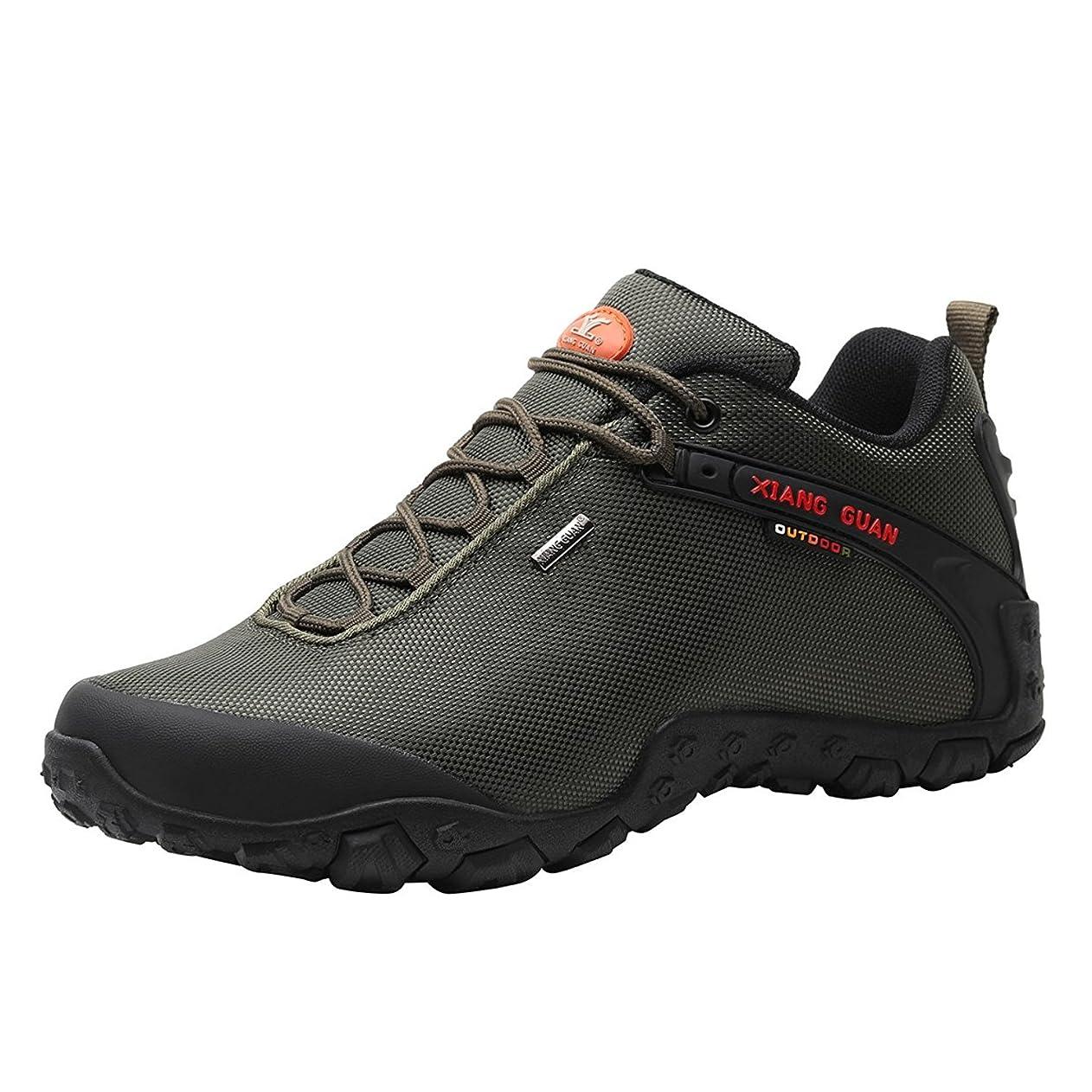 オークション爆発する制約[ショウカン] ウォーキング シューズ メンズ 登山靴 トレッキング シューズ 軽量 防滑 撥水 ハイキング シューズ