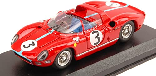 promocionales de incentivo Art Model AM0289 Ferrari 330 P N.3 Tourist Tourist Tourist Trophy 1964 Hill 1 43 Model Die Cast Compatible con  saludable