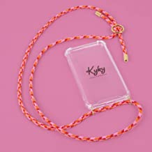 Kyky Amsterdam 50 Shades of Lipstick Mobile Phone Necklace for iPhone X/XS Glamorous Gold