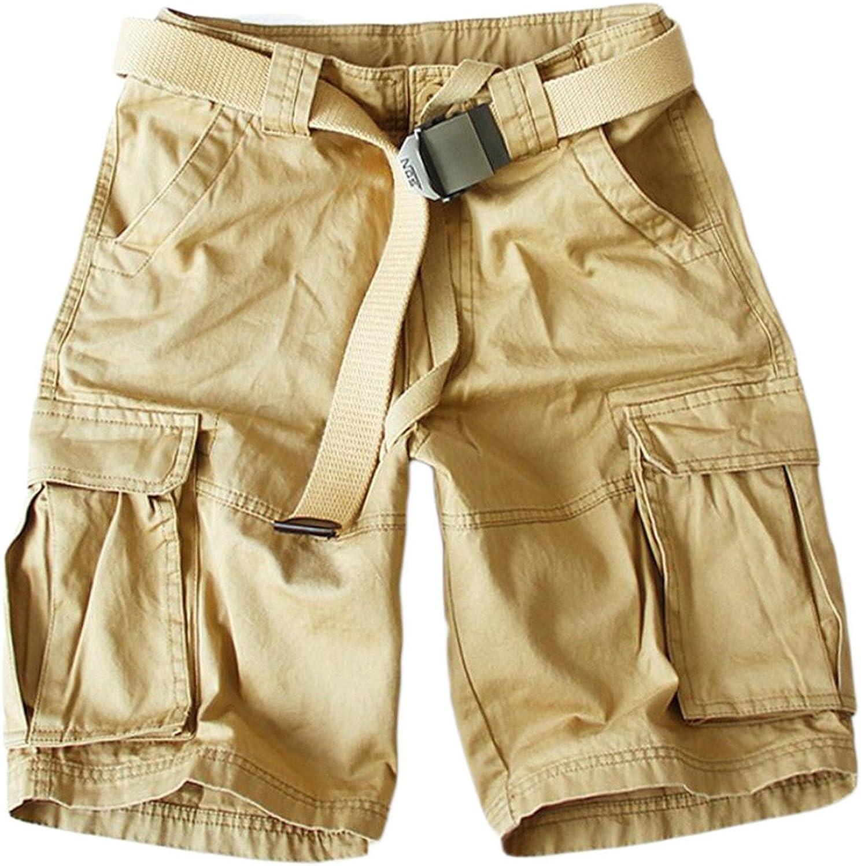GAGA Men's Casual Multi-Pocket Outwear Army Army Army Cargo Pants Loose Short 3caa17