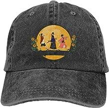 goodbe Samurai Champloo Adjustable Visor Cotton Washed Denim Caps Hats Black
