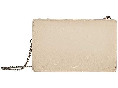 AllSaints Fetch Chain Wallet (Dove) Wallet Handbags