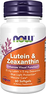 Now Foods Lutein Zeaxanthin - 60 Softgels