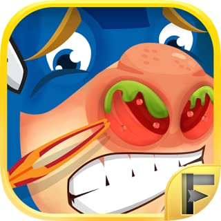 Superhero Nose Doctor Adventure - Free Kids Games
