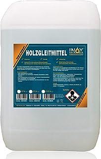 INOX® 25L glidmedel i trä silikonfritt – glidmedel för träbearbetning på hyvelmaskin, fräsmaskin eller bordscirkelsåg