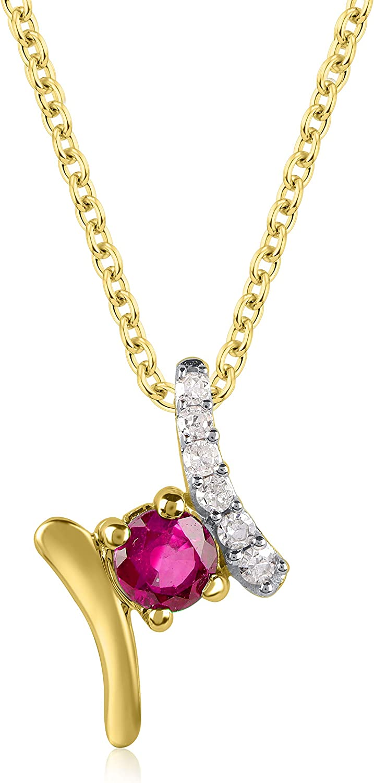 Weekly update TJD 0.03 Carat Natural Round Gemstone Under blast sales Designer Diamond and Ruby