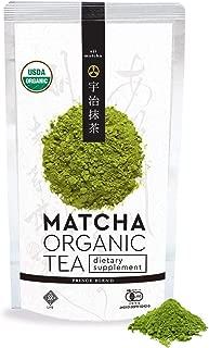 LIFE MATCHA ORGANIC GREEN TEA -PRINCE BLEND- 100g