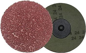 Shark 13230 2-Inch Resin Fiber Aluminum Oxide Grinding Discs, 50-Pack, Grit-24