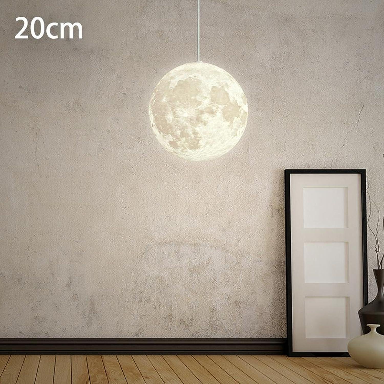 Post-Modernen Pendelleuchten Hngelampe Nordic Einfache Mond Hngeleuchte Wohnzimmer Arbeitszimmer Schlafzimmer Persnlichkeit Kreative Loft Restaurant Beleuchtung Kugel Lampe E27 20CM