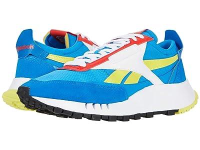 Reebok Lifestyle Classic Leather Legacy (Dynamic Blue/Horizon Blue/Instinct Red) Shoes